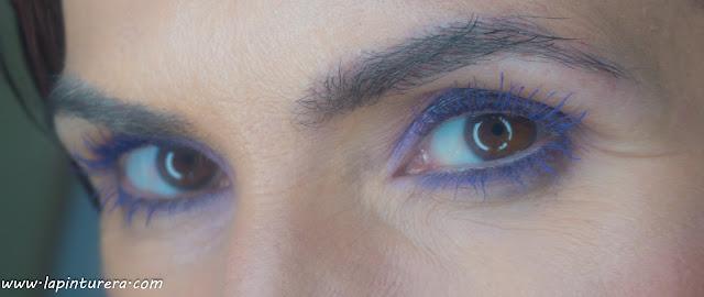 look azul y malva