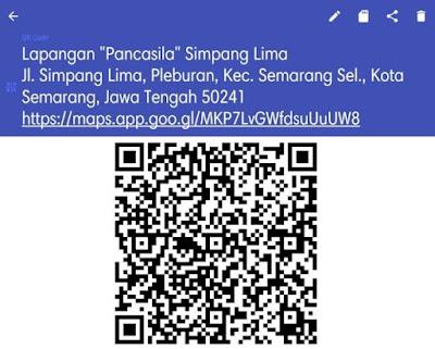 Membuat QR Code dari Google Maps 3