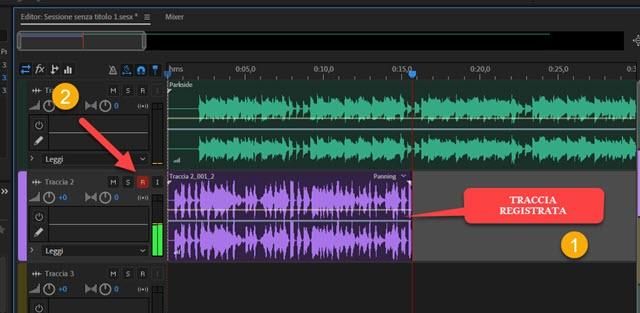 registrazione di base musicale con cantato da microfono