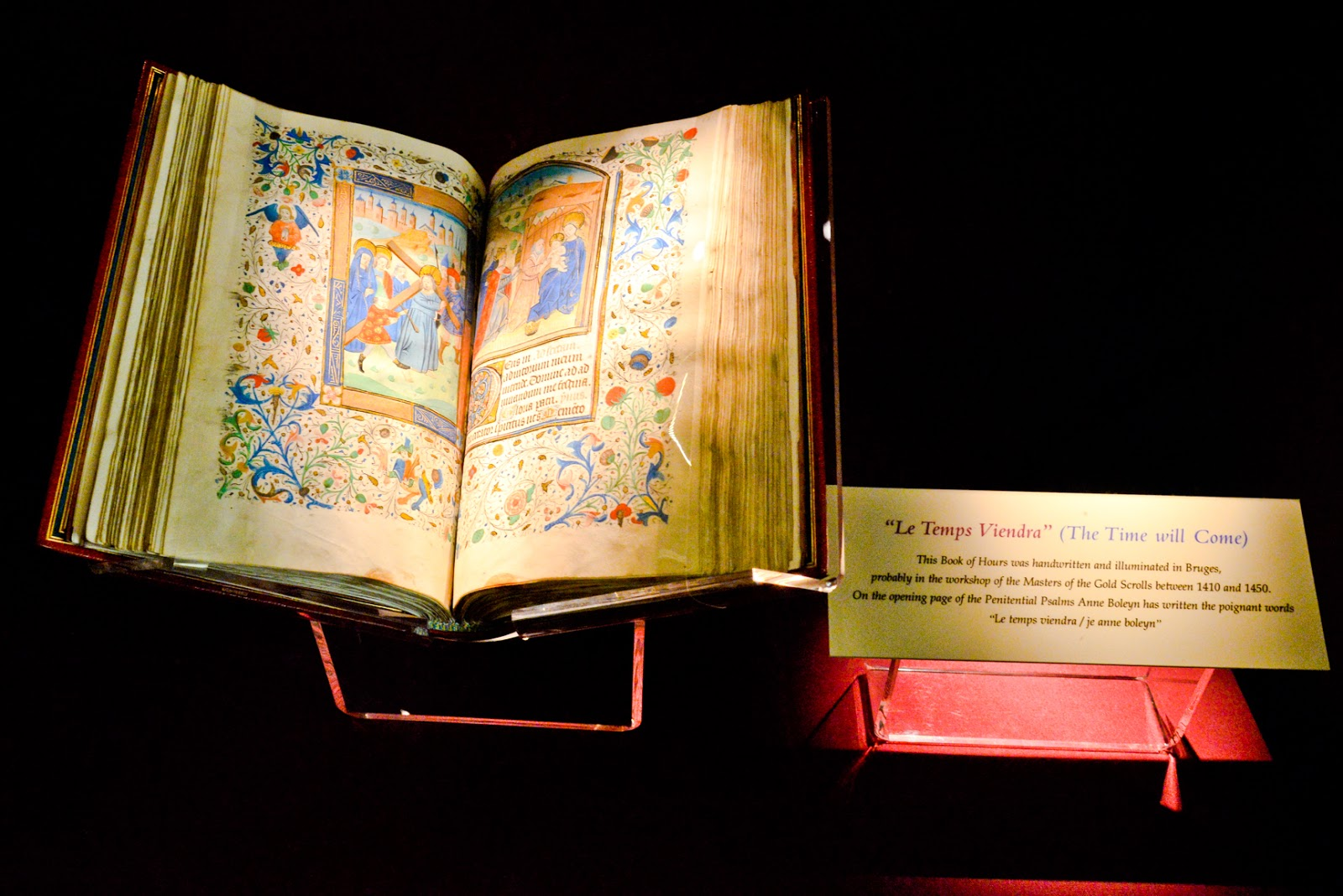 anne boleyns prayer books, anne boleyn book of hours, hever castle