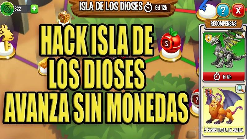 COMO PROGRESAR EN ISLA DE LOS DIOSES SIN COINS