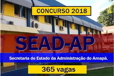 SEADAP: Edital e inscrições concurso 2018