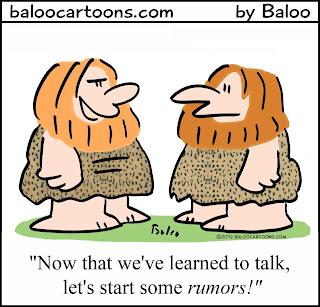 Image result for rumor cartoons