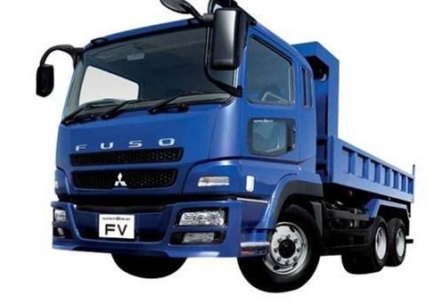 foto truk mitsubishi canter fuso