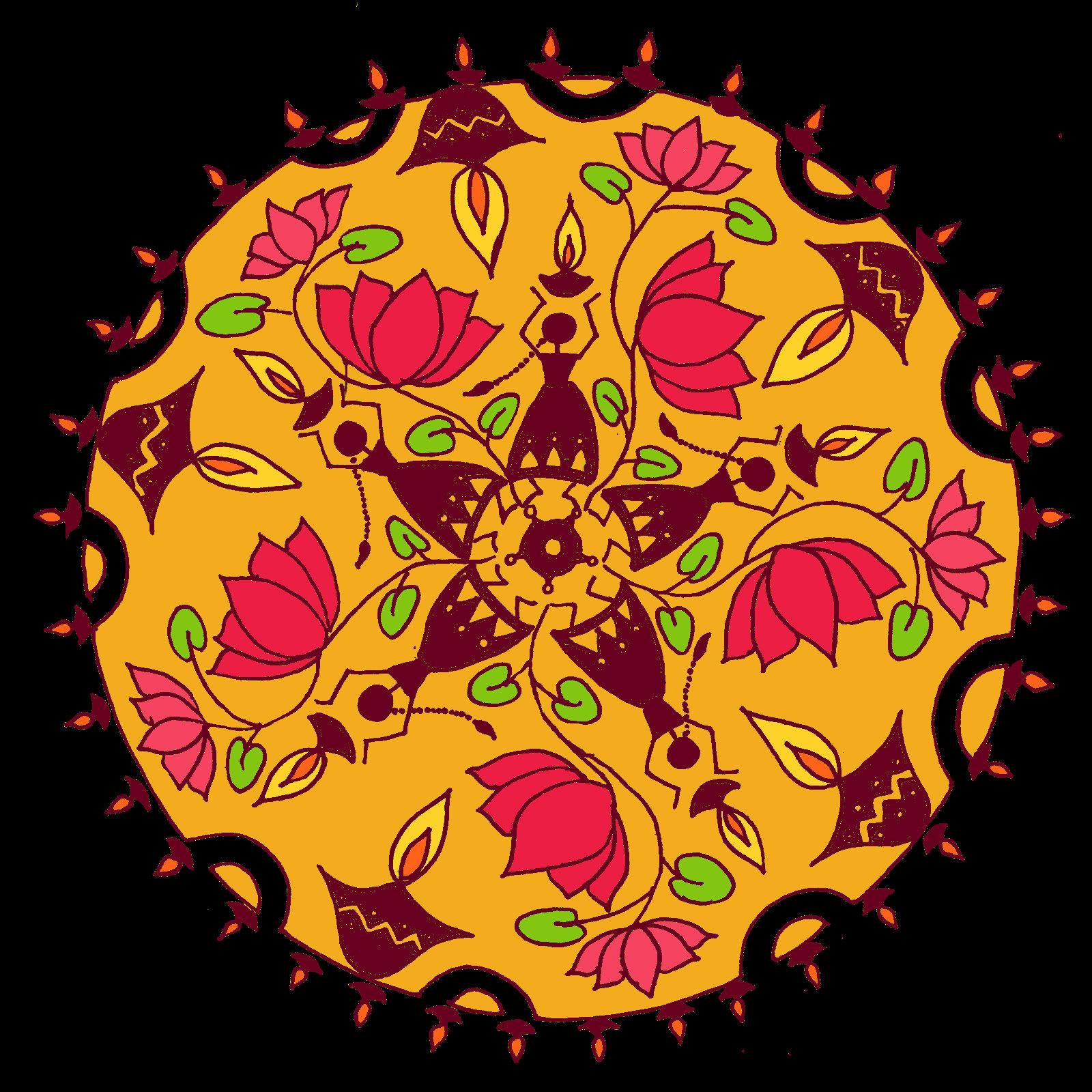 Beautiful Rangoli Designs & Patterns For Diwali ...