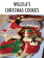 Granny's sugar cookie recipe