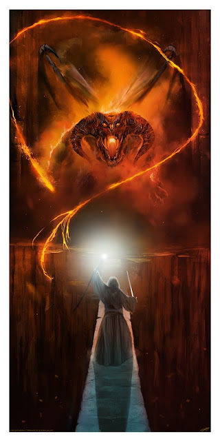 The Lord of the Rings Showdowns Prints by Andy Fairhurst x Bottleneck Gallery