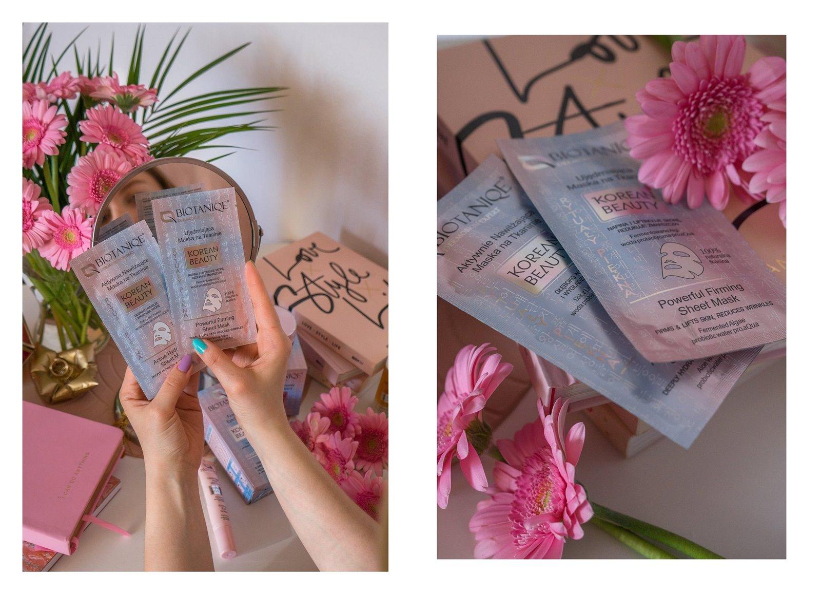 8A biotaniqe koreańska pielęgnacja krok po kroku w jakiej kolejności nakładać kosmetyki jak dbać o cerę koreańskie kosmetyki kremy serum maski korean beauty instagram melodylaniella łódzka blogerka lifestyle