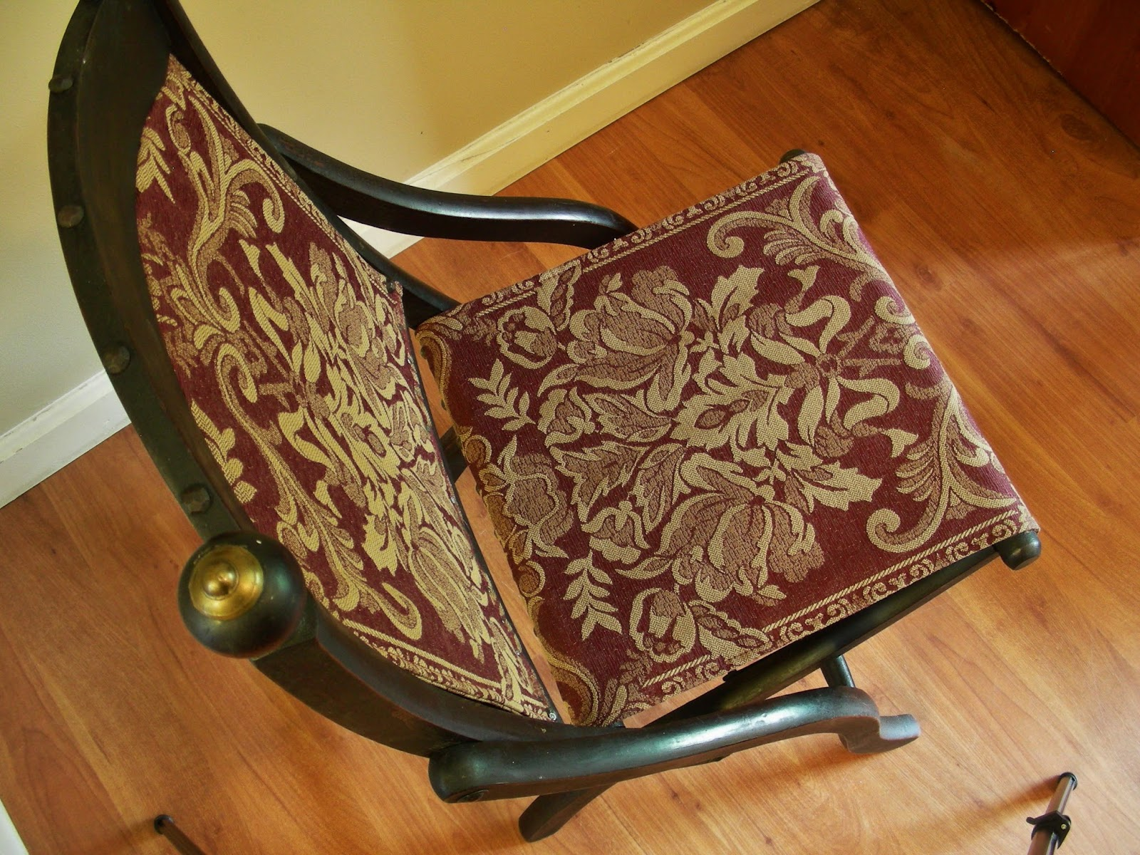 Folding Chair Upcycle And A Half Rocker Canada Destinations Vintage Upcycled Repurposed Stuff