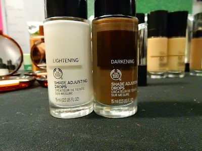 The Body Shop Shade Adjusting Drops at The Makeup Show New York 2016 - www.modenmakeup.com