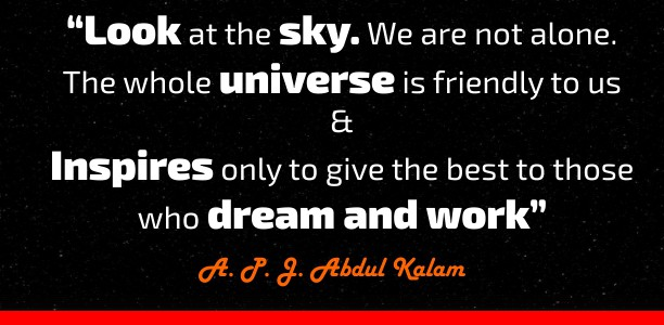 kalam quotes for students