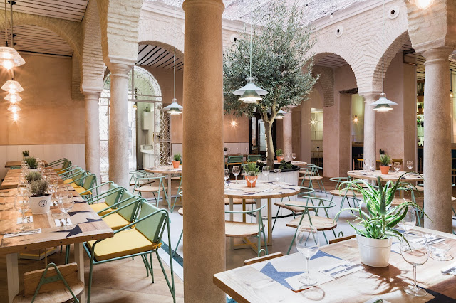 El Pintón: a fresh and current approach to the Sevillian patio