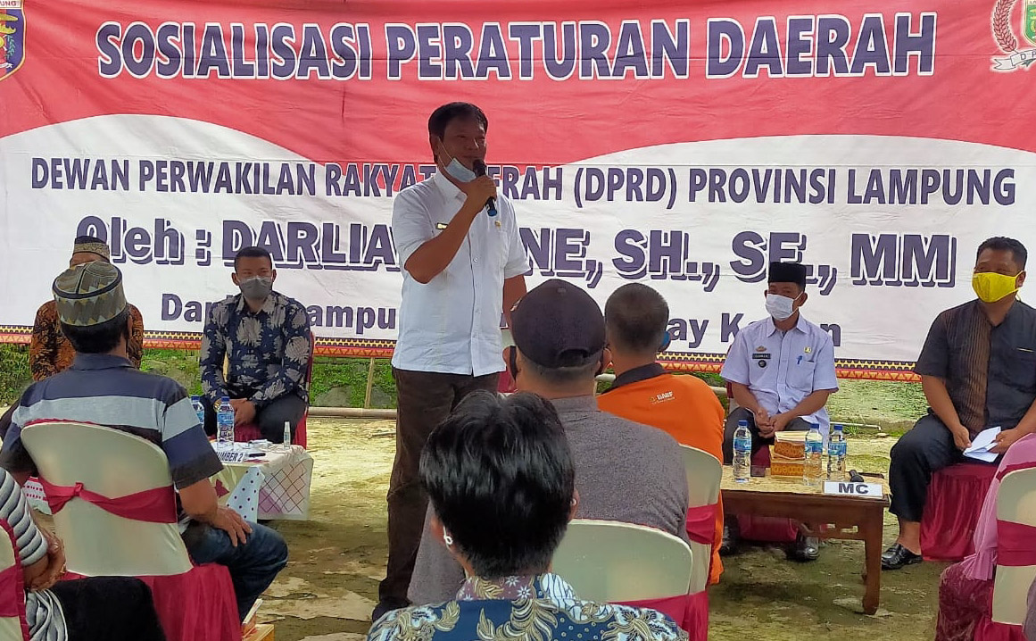 Anggota DPRD Lampung Heran Pupuk Langka, Diduga Ada Permainan Distributo