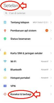 Cara setting privat DNS Xiaomi MIUI 10 android Pie 10