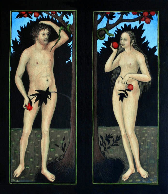 Ismini Bonatsou Adam and Eve 1