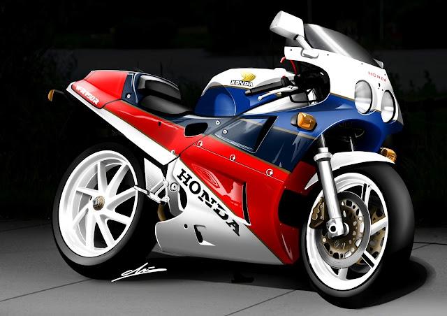 Honda RC30 HD Wallpaper