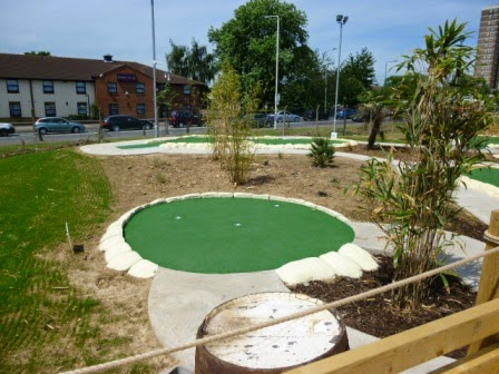 Moby Adventure Golf in Chadwell Heath