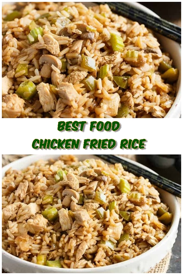 #Chicken #Fried #Rice #chickenrecipes #recipes #dinnerrecipes #easydinnerrecipes