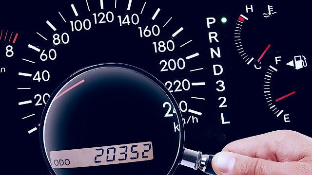 kilométrage d'une voiture d'occasion