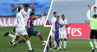 Real Madrid has reportedly failed to appeal Eder Militao's red card, out against Huesca