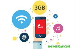 Airtel 3GB 1K data plan