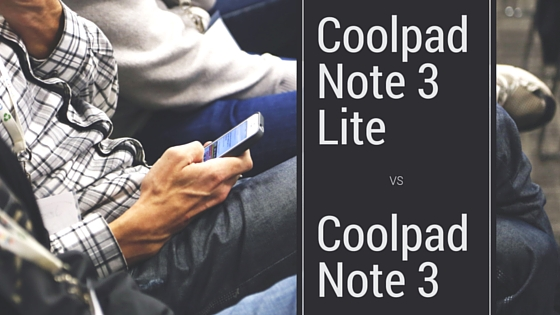 Coolpad Note 3 Lite vs Coolpad Note 3