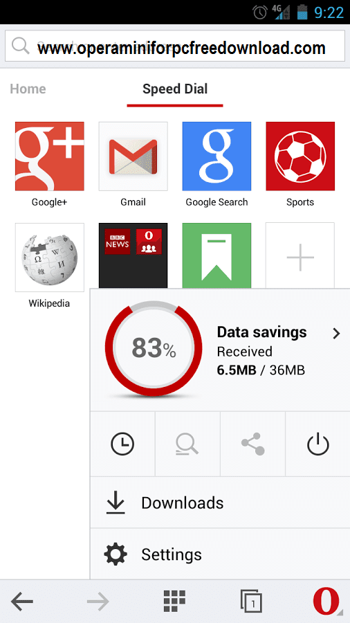 Opera Mini Apk Free Old Version and Latest Download 2018