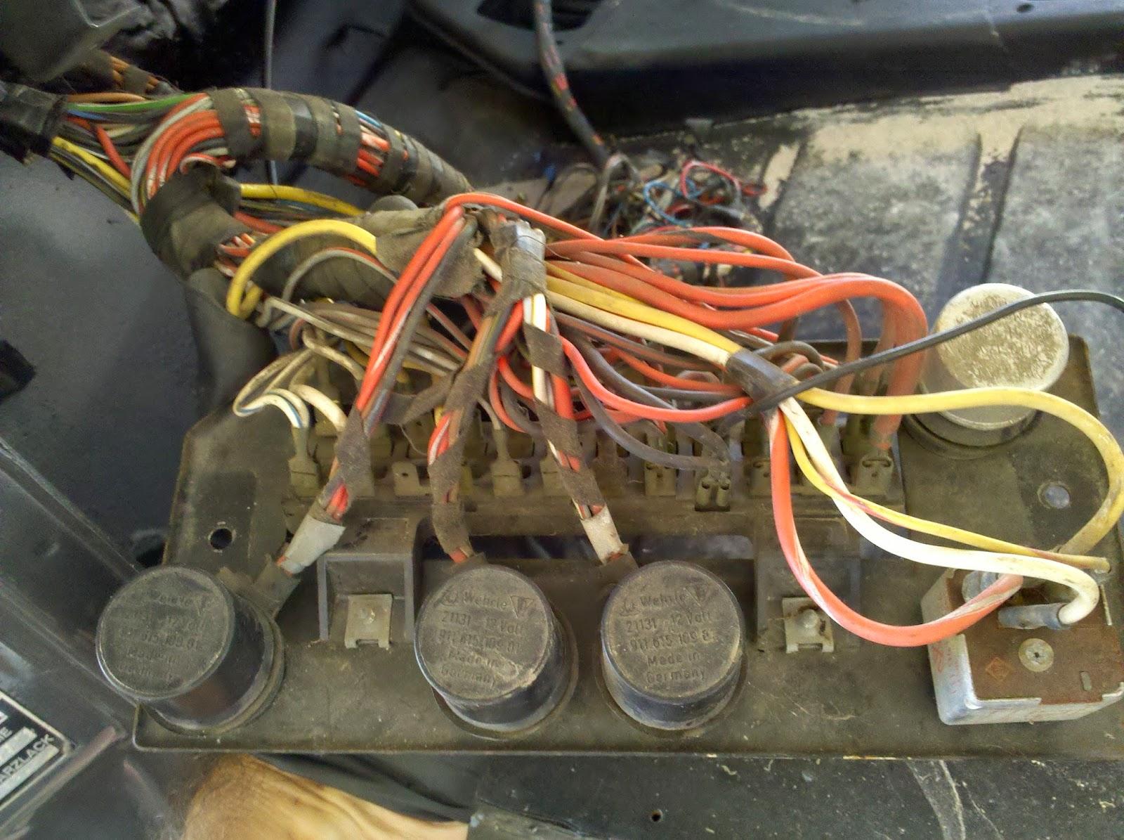 Porsche 914 Wiring Loom Manual Guide Diagram Engine 914e Electric Conversion And Tesla Obsession Fuse Block Rh Porsche914e Blogspot Com Harness