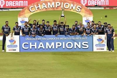 India won the ODI series 2-1