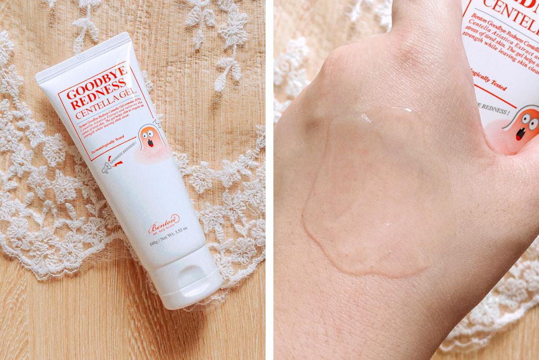 Benton Goodbye Redness Centella Gel & Spot Cream Review | chainyan.co