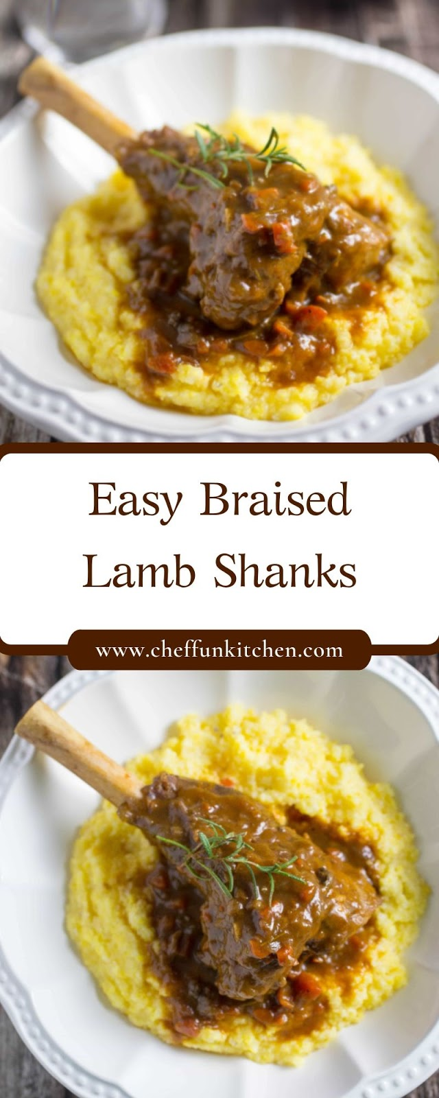 Easy Braised Lamb Shanks