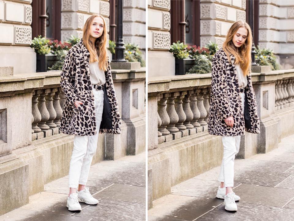 How to style a western belt and leopard coat, autumn/winter 2019  - Kuinka stailata länkkäri-vyö ja leoparditakki, syksy/talvi 2019