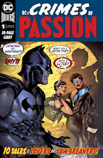 DC's Crimes of Passion #1 cover B from DC Comics