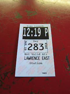 Transfer for the TTC's Lawrence East RT station