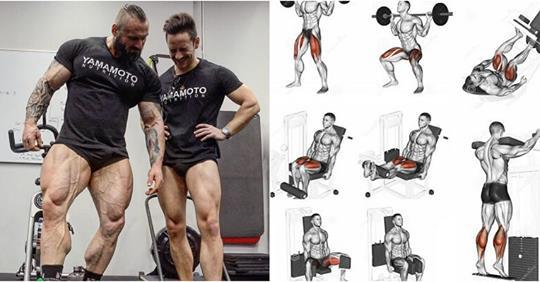 Leg Workout: 5 Exercises To Build Big Legs !