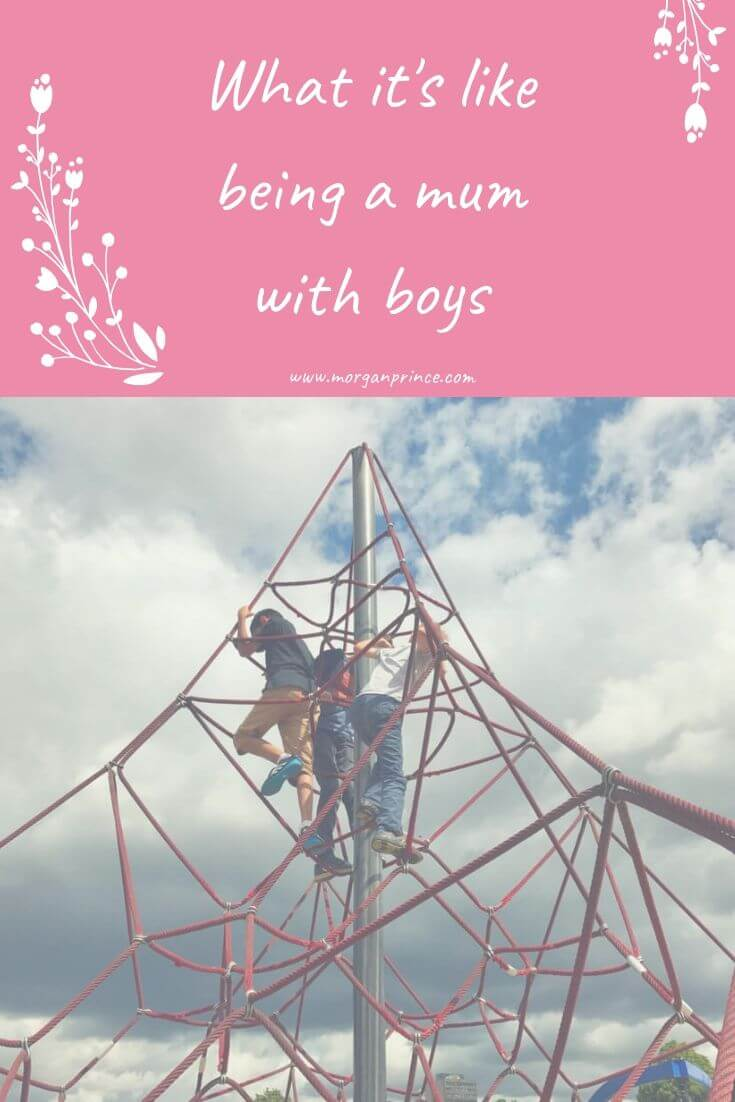 What It's Like Being A Mum With Boys | It's all good fun, until you step in the bathroom!