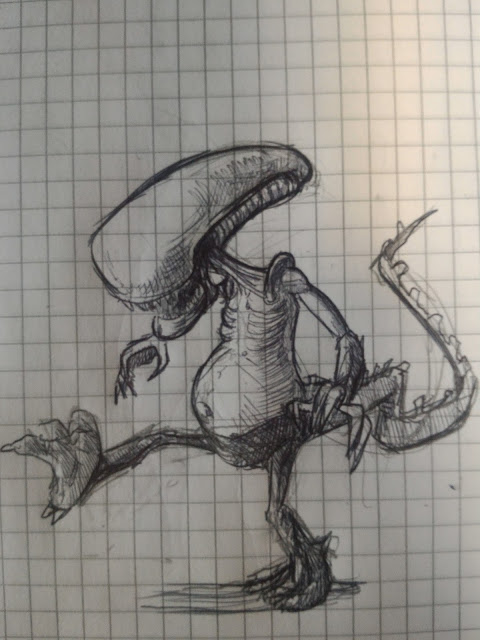 Alien, xenomorph