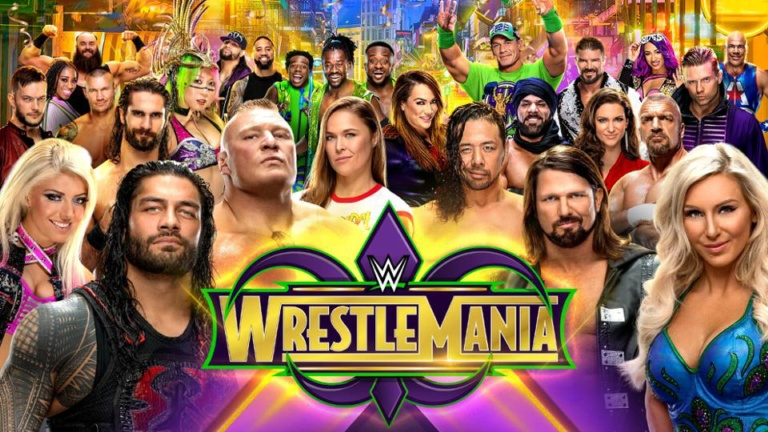 Watch WWE WrestleMania 34 Online Free 2018 Putlocker