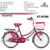 Sepeda Mini Exotic ET9788 CTB junior city bike
