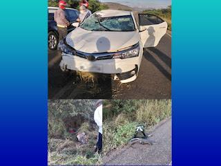 Ciclista morre após acidente em Iaçu