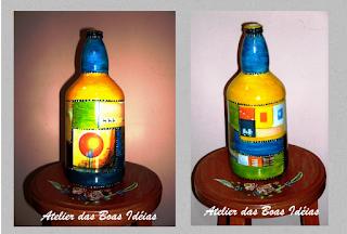 garrafas recicladas
