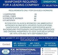 Singapore cv selection