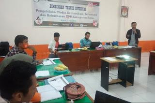KPU Kabupaten Bima Optimalkan Fungsi Media Komunikasi