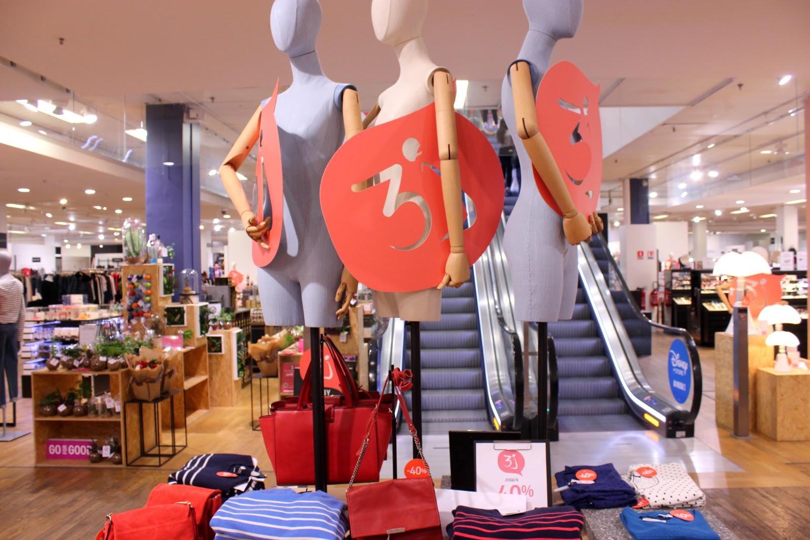 shopping galeries lafayette rosny 2, 3J, les petites bulles de ma vie