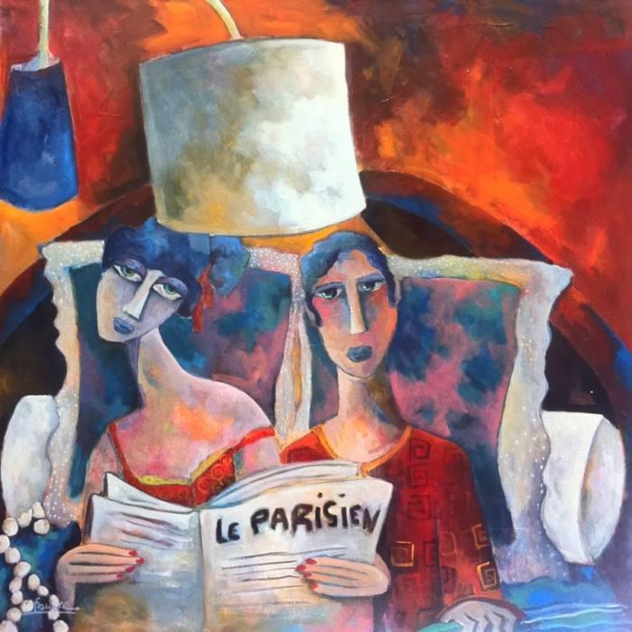 Фантастические пейзажи. Martine Dechavanne Fauve