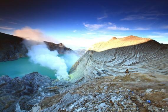 Fenomena Gunung Berapi Biru
