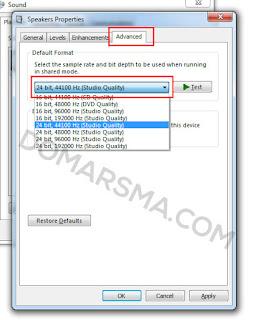 "Cara Mudah Mengatasi ""Error opening sound device Try Changing the audio host"""