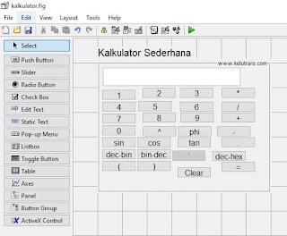 Membuat Desain Button dengan Rapi di GUI MATLAB