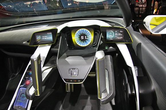 Honda EV-STER interior