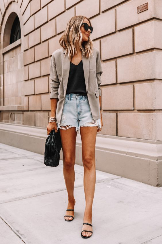 Combo favorito: blazer + short